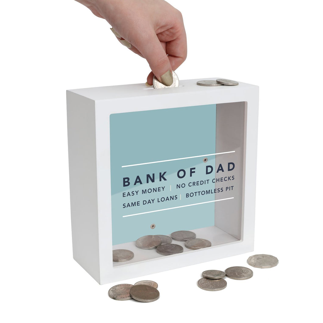 Bank of Dad Change Box