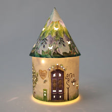 Load image into Gallery viewer, Fairy House Lantern - Marigold Dewdrop