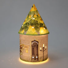 Load image into Gallery viewer, Fairy House Lantern - Blossom Snowdancer