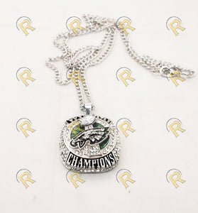 NEW Philadelphia Eagles Super Bowl Pendant and Chain (2018) - Championship Rings