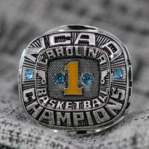 SPECIAL EDITION North Carolina Tar Heels College Basketball National Championship Ring (1982) - Premium Series