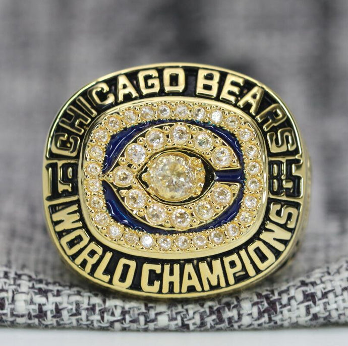 SPECIAL EDITION Chicago Bears Super Bowl Ring (1985) - Premium Series