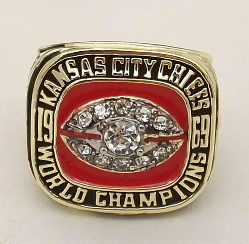 Kansas City Chiefs Super Bowl Ring (1969) - Championship Rings