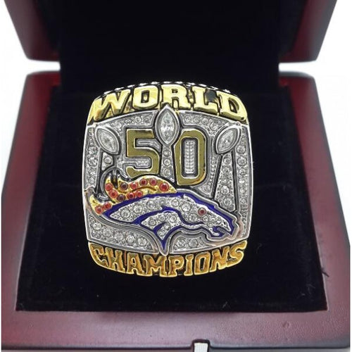 SPECIAL EDITION Denver Broncos Super Bowl Ring (2015) - Premium Series