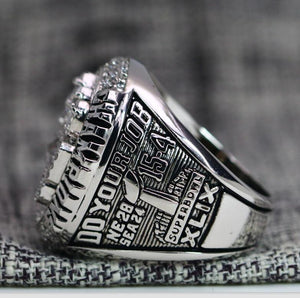 SPECIAL EDITION New England Patriots Super Bowl Ring (2015) - Premium Series