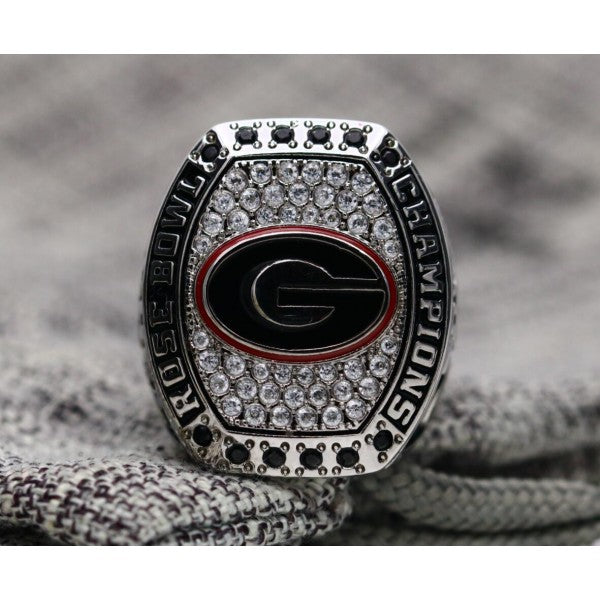 SPECIAL EDITION Georgia Bulldogs College Football Rose Bowl Championship Ring (2017) - Premium Series