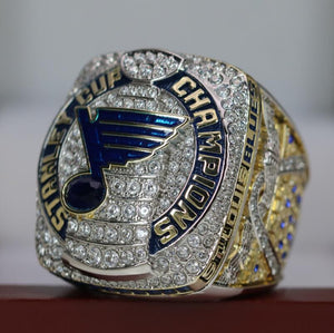 NEW SPECIAL EDITION St. Louis Blues Stanley Cup Ring (2019) - Premium Series