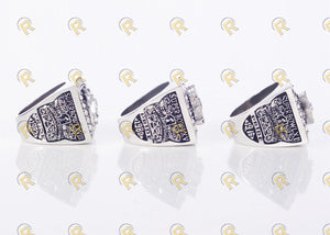 Oakland Raiders Super Bowl Rings Set (1976, 1980, 1983) - Premium Series - Championship Rings