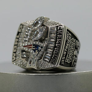 SPECIAL EDITION New England Patriots Super Bowl Ring (2004) - Premium Series