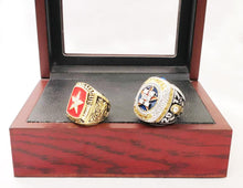 Houston Astros World Series Rings (2005, 2017) Set - Championship Rings