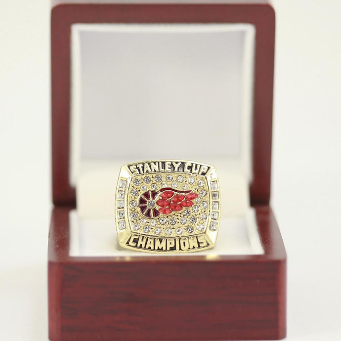 Detroit Red Wings Stanley Cup Ring (1998) - Championship Rings