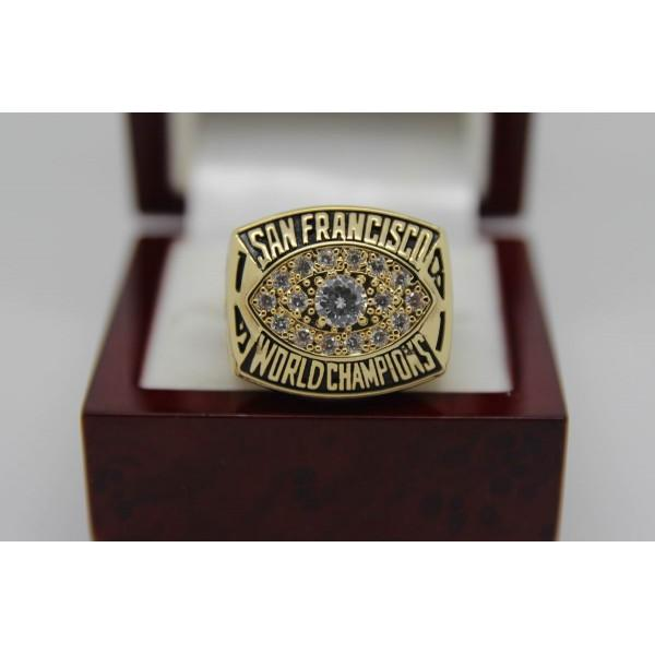 SPECIAL EDITION San Francisco 49ers Super Bowl Ring (1981) - Premium Series