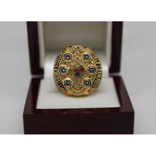 SPECIAL EDITION Pittsburgh Steelers Super Bowl Ring (2008) - Premium Series