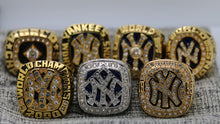 SPECIAL EDITION New York Yankees World Series Ring Set of 7 (1977, 1978, 1996, 1998, 1999, 2000, 2009) - Premium Series