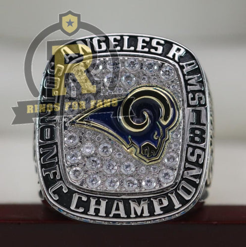 SPECIAL EDITION Los Angeles Rams NFC Championship Ring (2018) - Premium Series