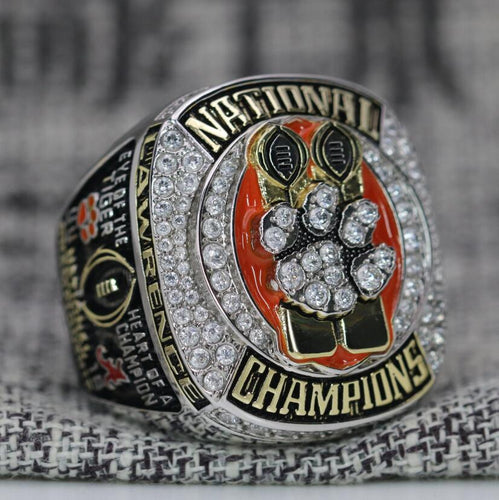 SPECIAL EDITION Clemson Tigers College Football National Championship Ring (2018) - Premium Series