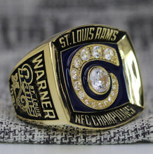 SPECIAL EDITION Los Angeles Rams NFC Football Championship Ring (2001) - Premium Series