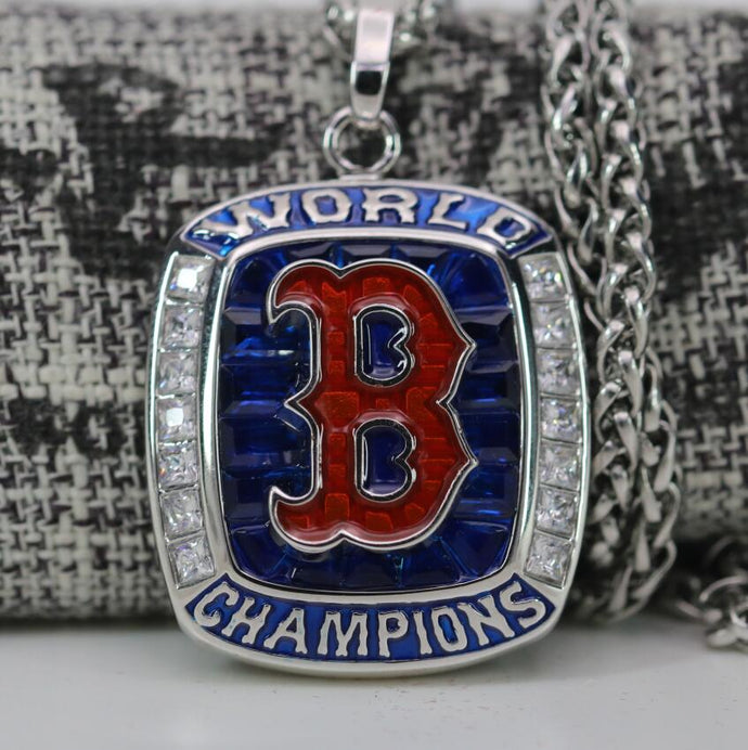 SPECIAL EDITION Boston Red Sox World Series Pendant (2018) - Premium Series