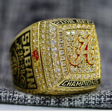 SPECIAL EDITION Alabama Crimson Tide SEC Championship Ring (2018) - Premium Series