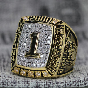 SPECIAL EDITION Oklahoma Sooners National Championship Ring (2000) - Premium Series