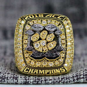 SPECIAL EDITION Clemson Tigers College Football ACC Championship Ring (2018) - Premium Series