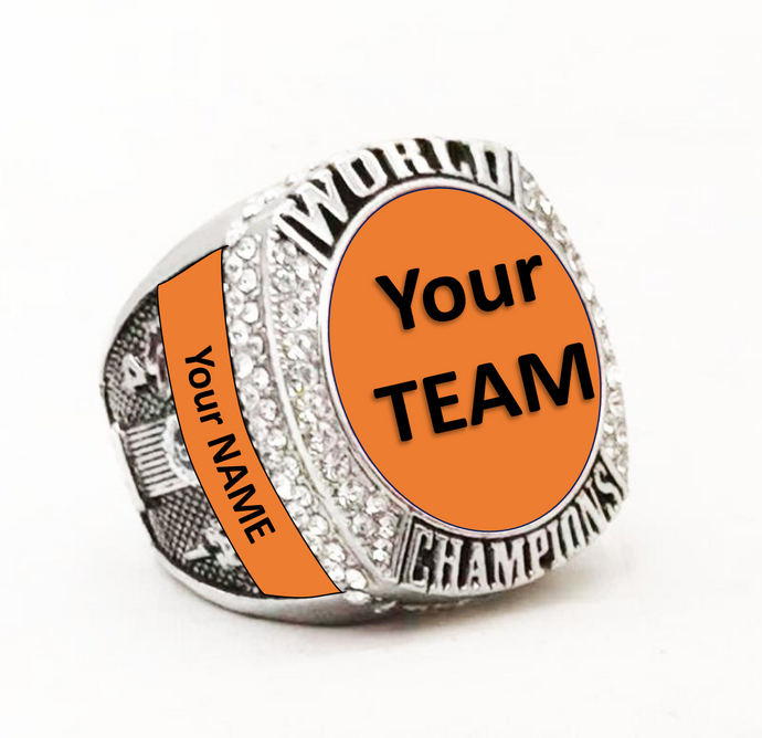 CUSTOMIZE ANY STANDARD RING! Custom Name Ring - Standard Series - Championship Rings