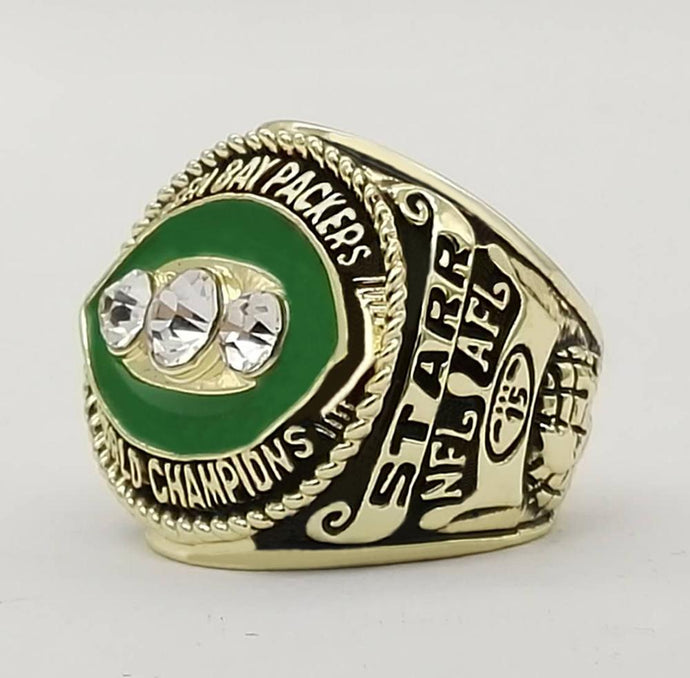 Green Bay Super Bowl Ring (1967) Replica - NFL - Championship Rings for Fans