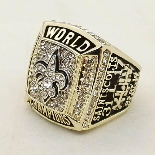 New Orleans Saints Super Bowl Ring (2009) - Championship Rings