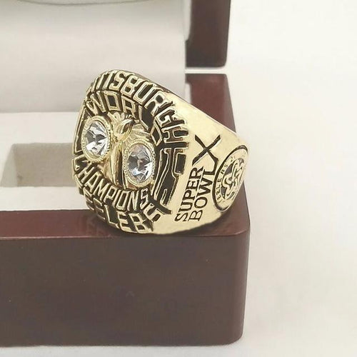 Pittsburgh Steelers Super Bowl Ring (1975) - Championship Rings