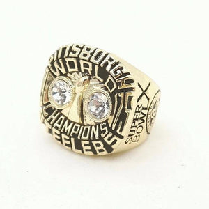 Pittsburgh Steelers Super Bowl Ring (1975) Replica - NFL - Championship Rings for Fans