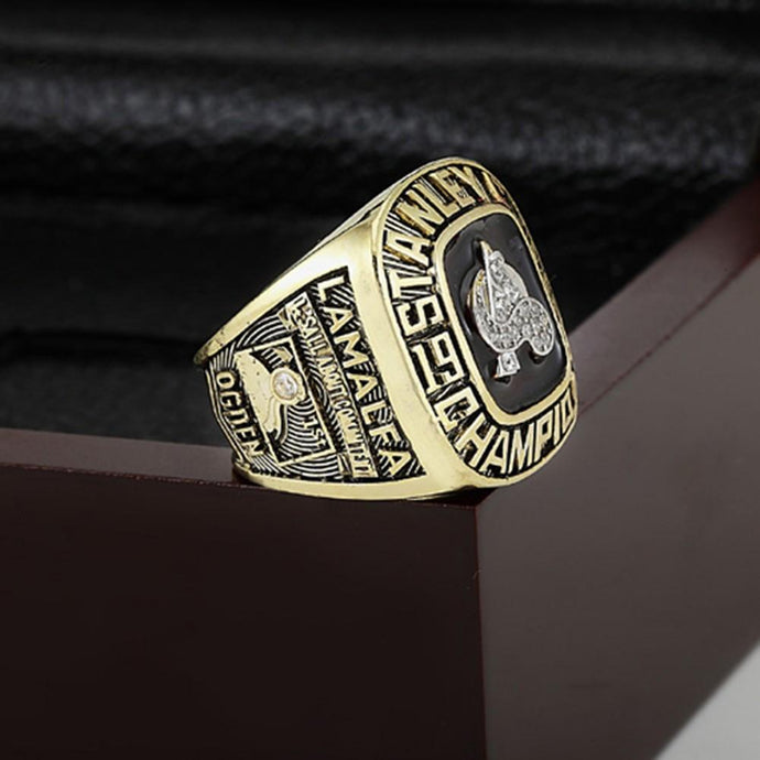 Colorado Avalanche Stanley Cup Ring (1996) - Championship Rings