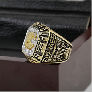 Calgary Flames Stanley Cup Ring (1989) - Championship Rings