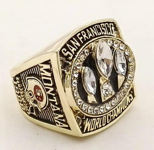 San Francisco 49ers Super Bowl Ring (1988) - Championship Rings