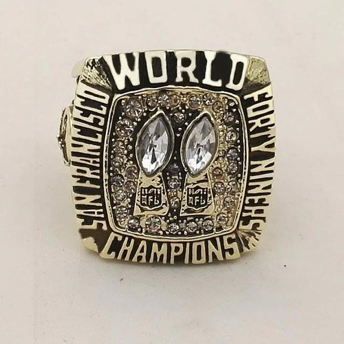 San Francisco 49ers Super Bowl Ring (1984) - Championship Rings