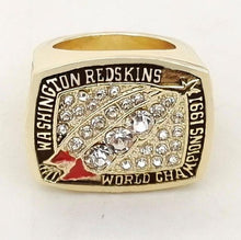 Washington Redskins College Football National Championship Ring (1991) Replica - NCAA - Championship Rings for Fans