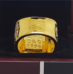 Chicago Bulls NBA Championship Ring 1996 - Premium Series