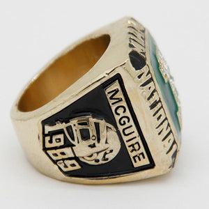 Miami (Fla.) Hurricanes College Football National Championship Ring (1989)
