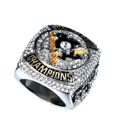 Pittsburgh Penguins Stanley Cup Ring (2016) - Sidney Crosby - Championship Rings