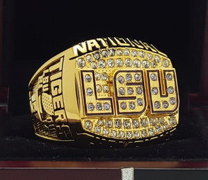 SPECIAL EDITION Louisiana State University (LSU) National Championship Ring (2003) - Premium Series
