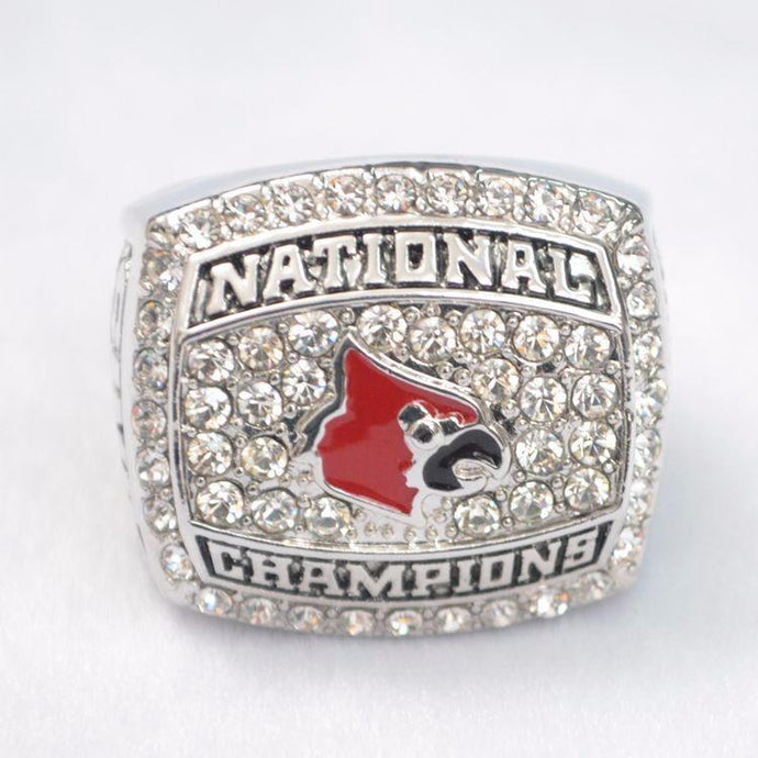 Louisville Cardinals College Basketball Championship Ring (2013) - Championship Rings