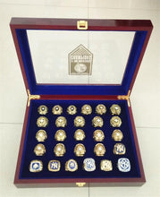 New York Yankees Ultimate World Series Ring 27 Piece Set (1923-2009)