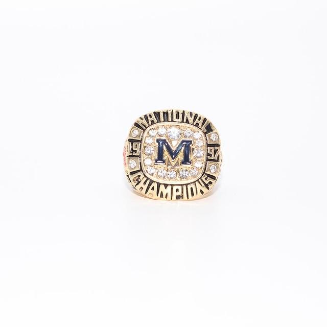 Michigan Wolverines College Football National Championship Ring (1997) - Championship Rings