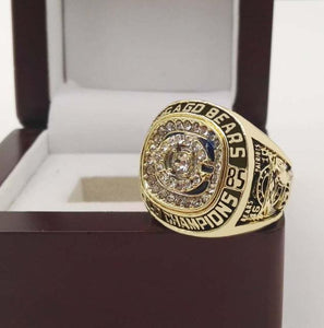 Chicago Bears Super Bowl Ring (1985) - Perry - Championship Rings