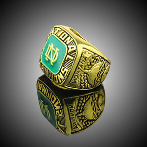 Notre Dame Fighting Irish College Football National Championship Ring (1977)