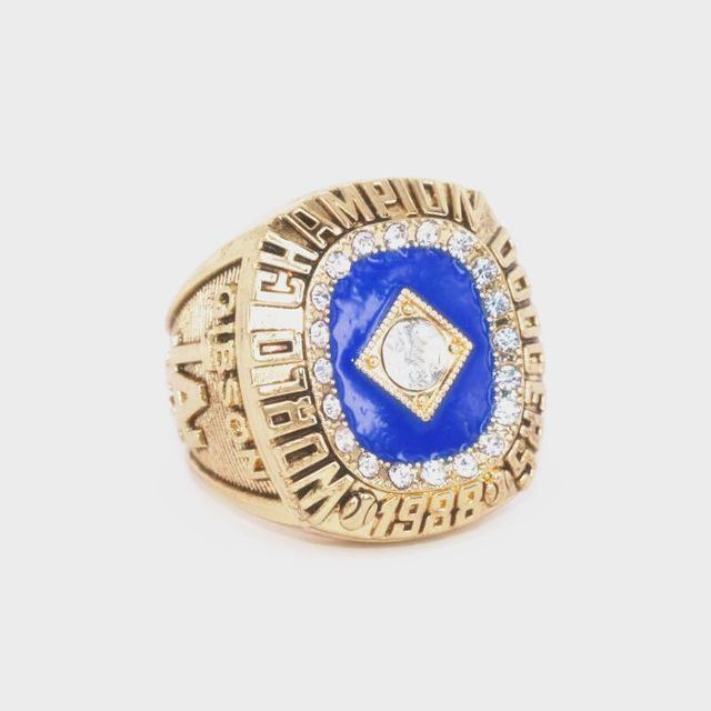 Los Angeles Dodgers World Series Ring (1988) - Championship Rings