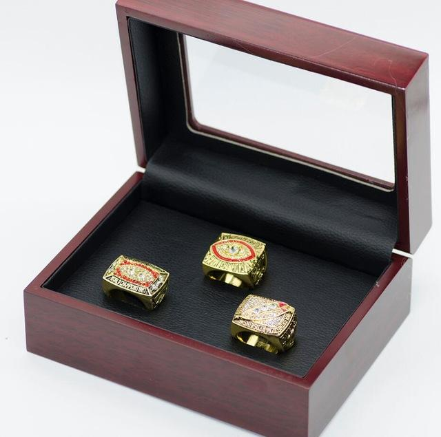 Washington Redskins Super Bowl Ring Set (1982, 1987, 1991) Replica - NFL - Championship Rings for Fans