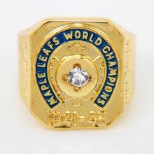 Toronto Maple Leafs Stanley Cup Ring (1942) Replica - NHL - Championship Rings for Fans