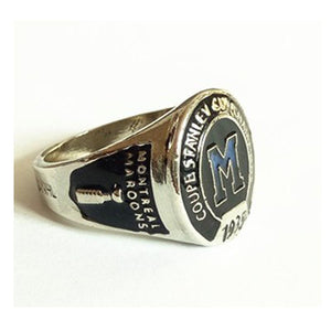 Montreal Maroons Stanley Cup Ring (1935) - Championship Rings
