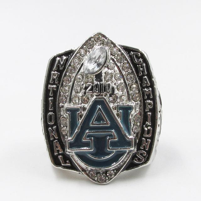 Auburn Tigers College Football National Championship Ring (2010) - Gene Chizik - Championship Rings