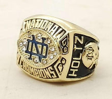 Notre Dame Fighting Irish College Football National Championship Ring (1988)